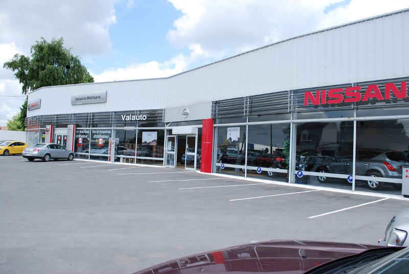 concessionnaire nissan sailly labourse garage nissan pas