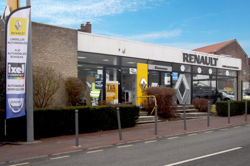 Agent renault linselles garage linselles automobile for Garage renault tourcoing