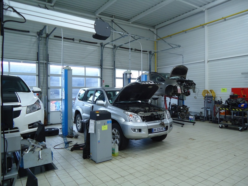 Franchise controle technique autosur c c a l franchis ind for Condition pour ouvrir un garage automobile