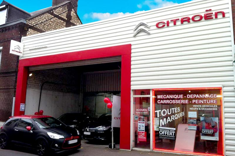 R vision auto for Garage citroen le perreux